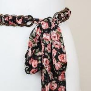 Accessories - NEW in stock Floral tie belt